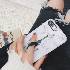Accessories - LAST 1! NEW iPhone XS Max Marble Grip Stand Case